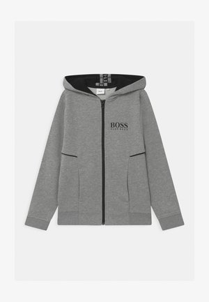 ZIP - veste en sweat zippée - grey marl