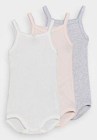 Petit Bateau - BRETELLE 3 PACK - Body - white/pink/grey - 0