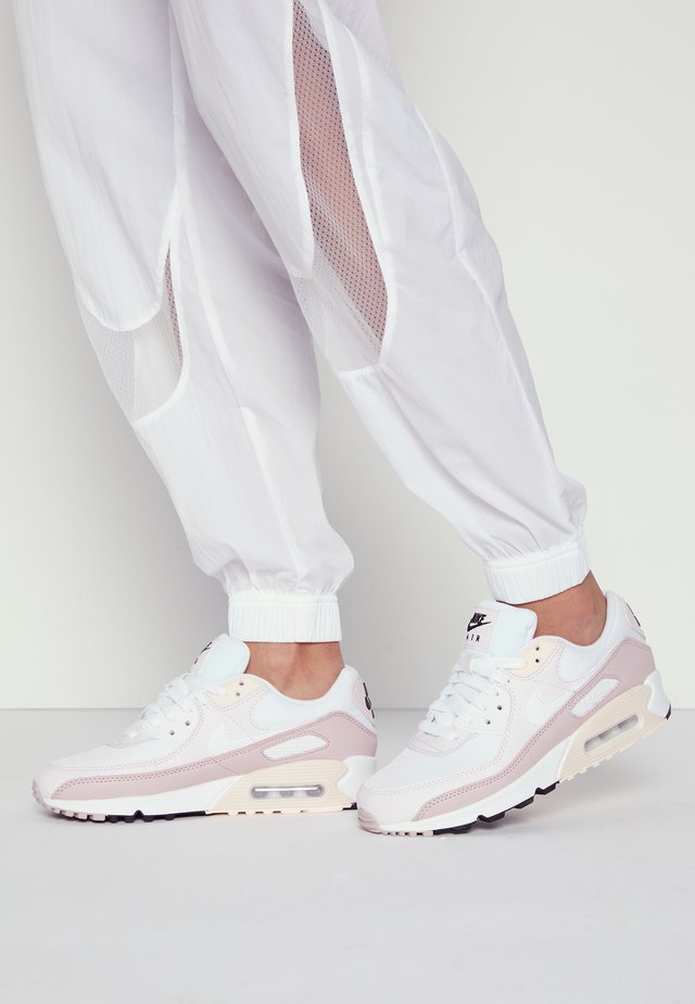 AIR MAX 90 - Sneakersy niskie - white/champagne/light violet