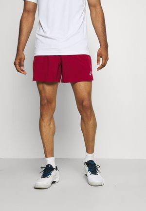 ROAD SHORT - Sports shorts - burgundy