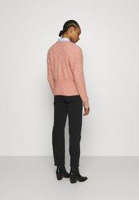 Lindex - TROUSERS BETTY - Straight leg jeans - black - 2