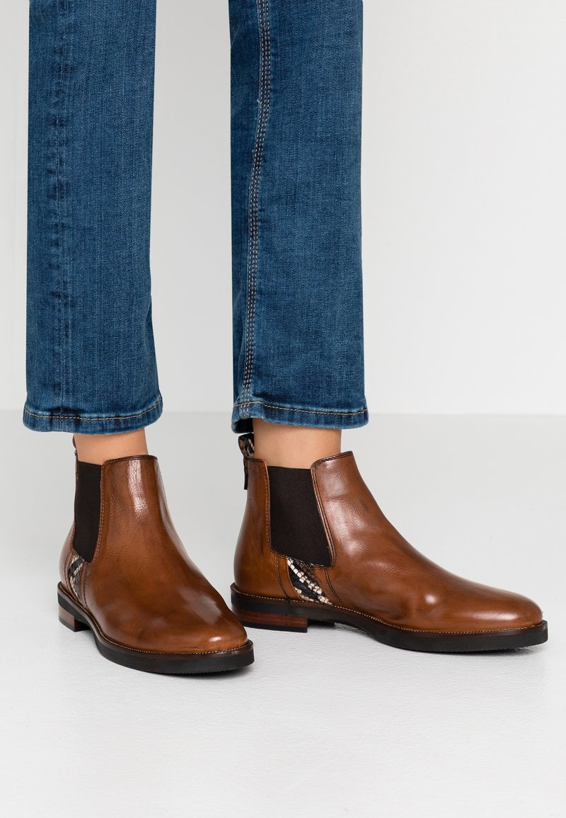 Maripé - Ankle boots - ginger/rovere