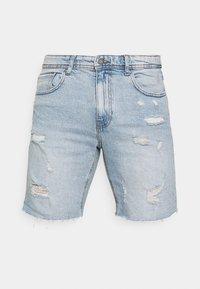 Cotton On - STRAIGHT SHORT - Farkkushortsit - vintage blue - 4