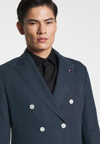 Tommy Hilfiger Tailored - WASHED SLIM FIT - Giacca - blue - 4