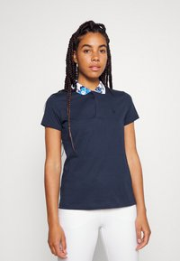 Polo Ralph Lauren Golf - FASHION SLEEVE - Polo shirt - french navy/porcelain floral - 0