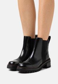 See by Chloé - MALLORY BOOTIE - Kotníkové boty - black - 0