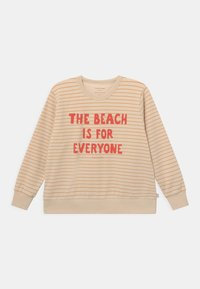 TINYCOTTONS - MANIFESTO STRIPES UNISEX - Sweatshirt - cream - 0