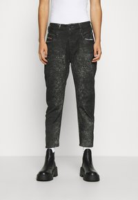 Diesel - D-FAYZA-SP2 - Relaxed fit jeans - washed black - 0