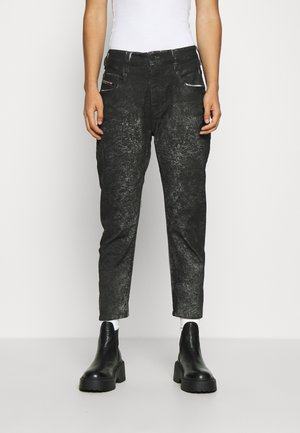 D-FAYZA-SP2 - Jeans relaxed fit - washed black
