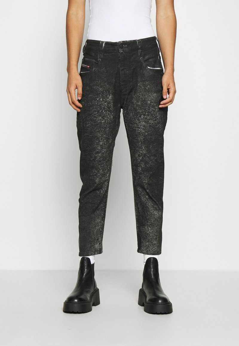Diesel - D-FAYZA-SP2 - Relaxed fit jeans - washed black