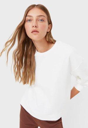 MIT SCHLITZEN  - Sweatshirt - off-white