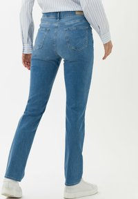 BRAX - STYLE MARY - Slim fit jeans - used light blue - 2