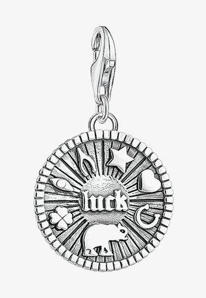 GLÜCKS-COIN - Hanger - silver-coloured
