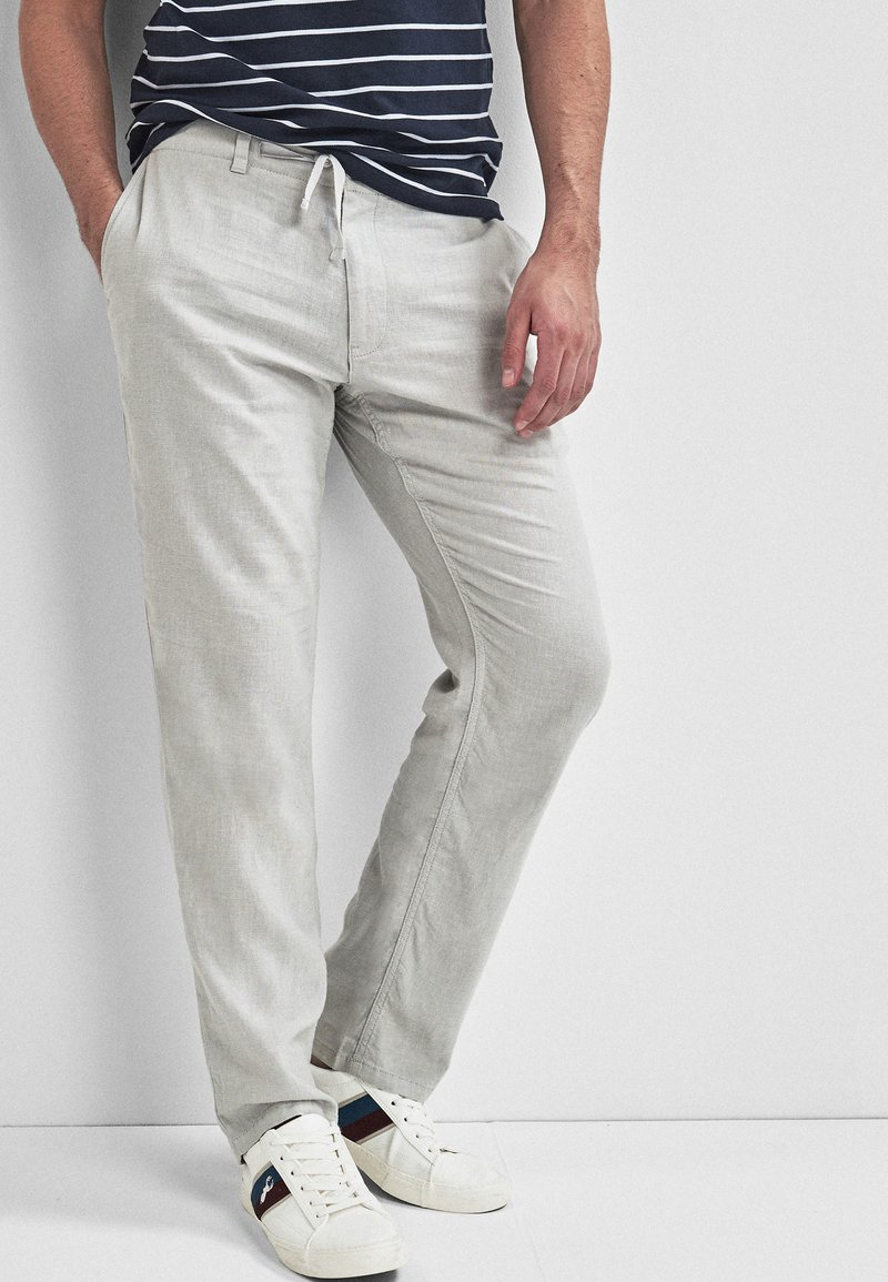 Next - Trousers - mottled grey