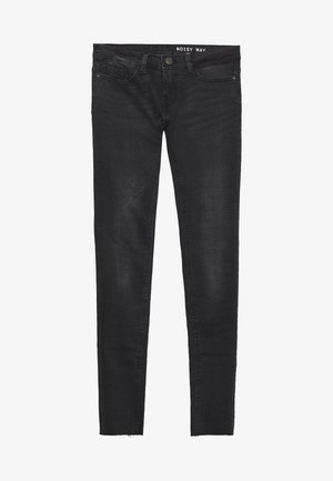 NMEVE ANKLE - Jeans slim fit - black denim