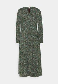 Marc O'Polo DENIM - DRESS LONGSLEEVE ROUND NECK - Maxi dress - multi coloured - 1