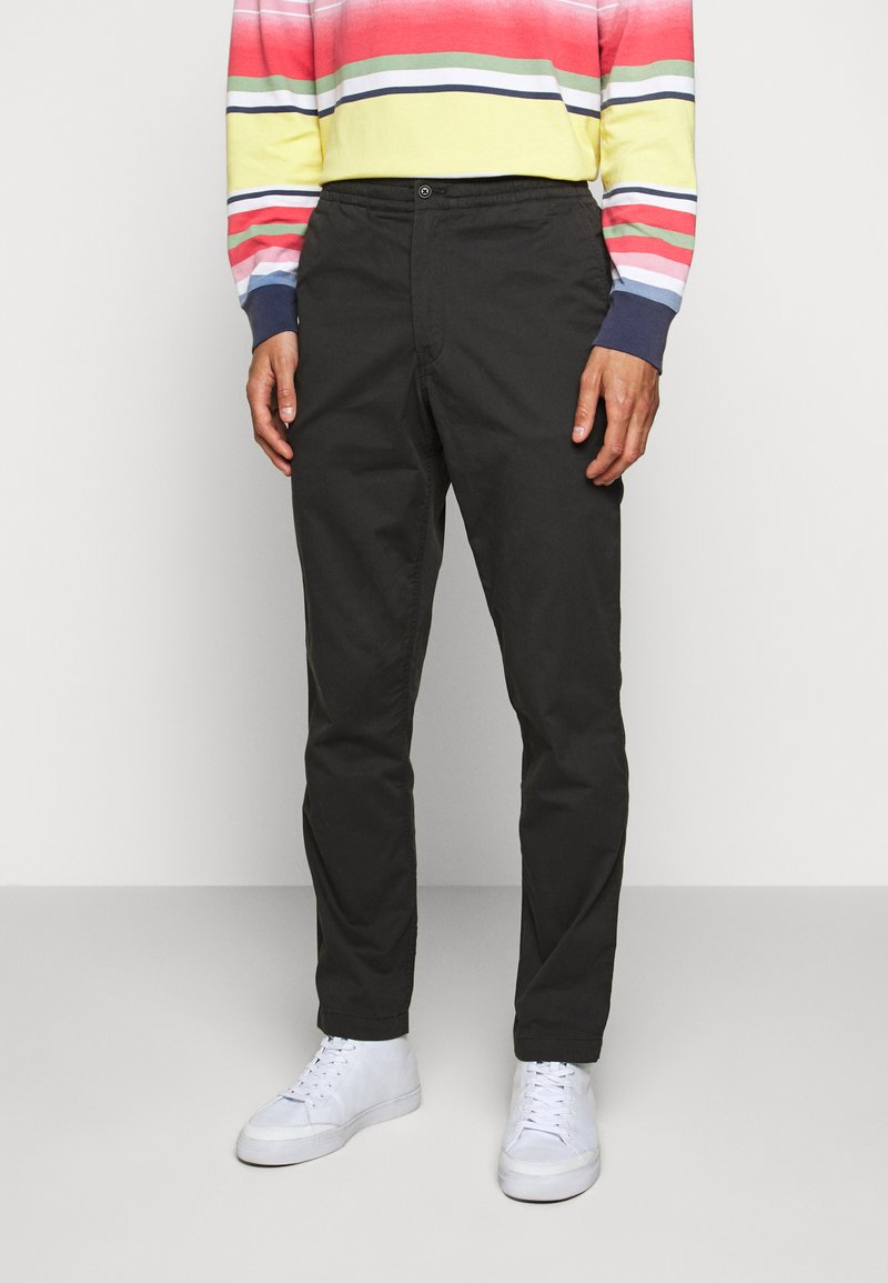 Polo Ralph Lauren - RELAXED FIT POLO PREPSTER PANT - Chinos - black mask