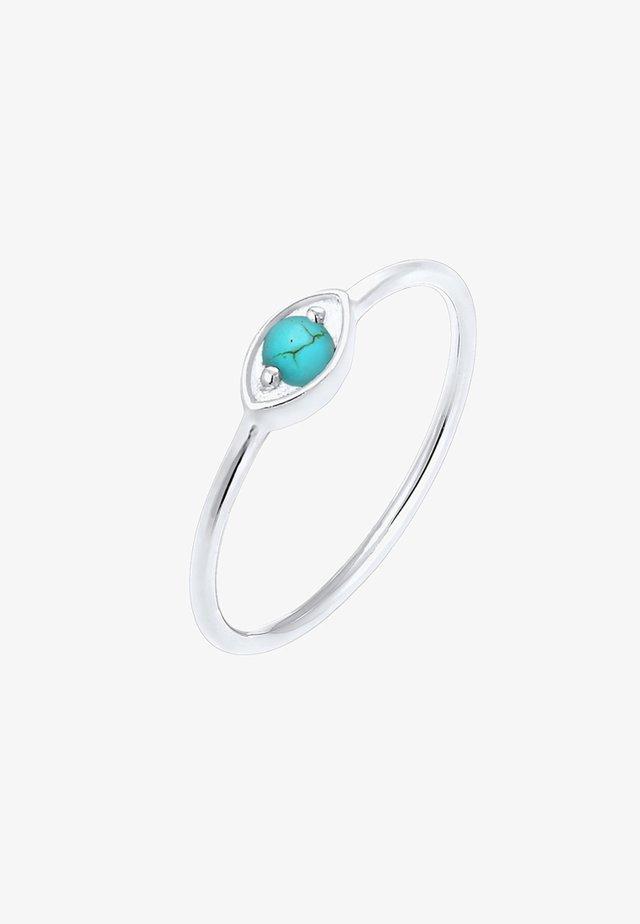 EVIL EYE TALISMAN - Ring - silver-coloured