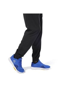 Reebok - TE WVN C LINED PANT - Tracksuit bottoms - black - 6
