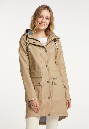 Waterproof jacket - sand
