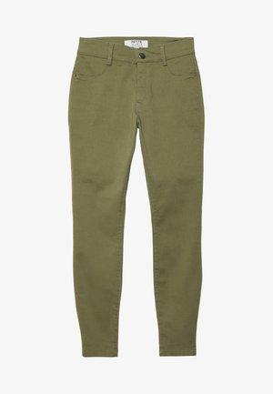 FRANKIE ANKLE GRAZER - Jeans Skinny Fit - khaki