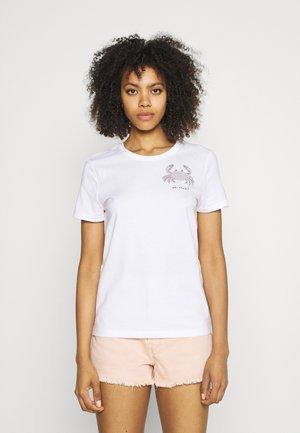 ONLKITA LIFE BOX  - T-shirts print - bright white