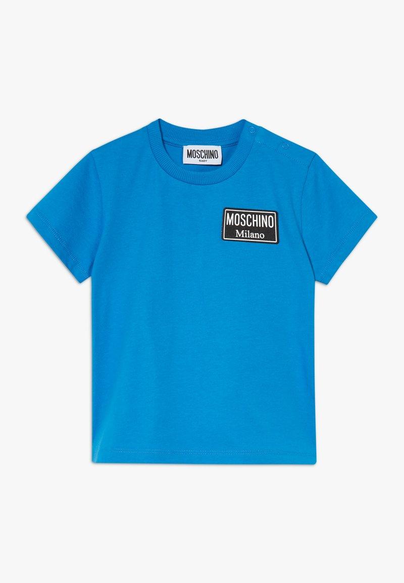 MOSCHINO - Triko spotiskem - french blue
