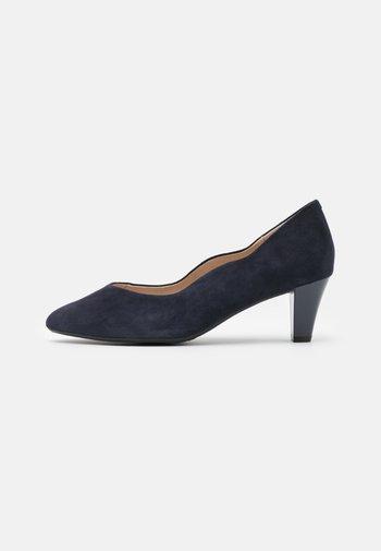 COURT SHOE - Classic heels - ocean