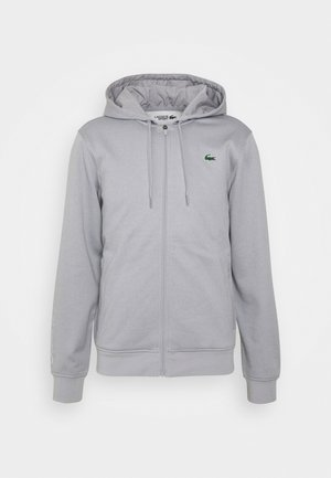 TECH HOODIE - Sweatjacke - silver chine/elephant grey