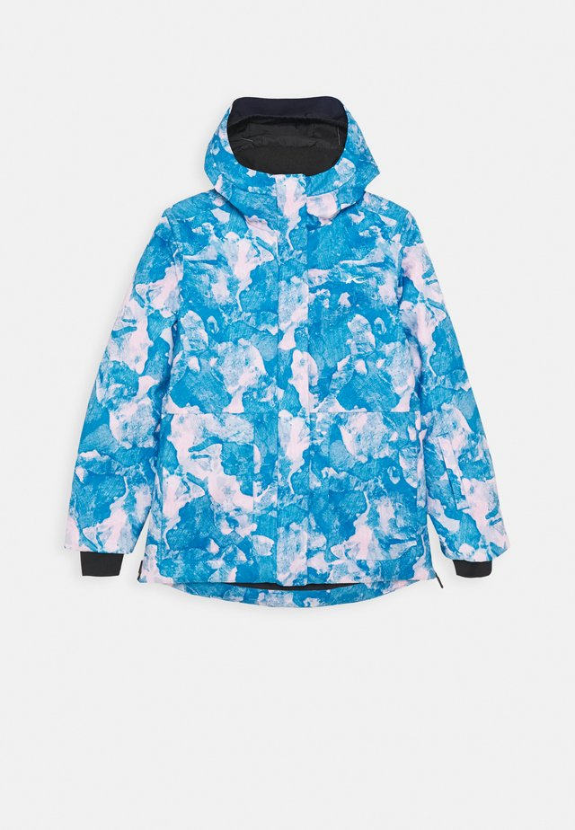 GIRLS MARA JACKET - Snowboardjas - blue/pink