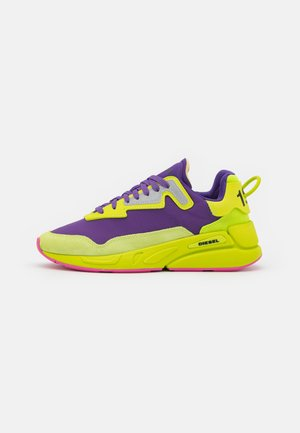 SERENDIPITY - Trainers - yellow/purple