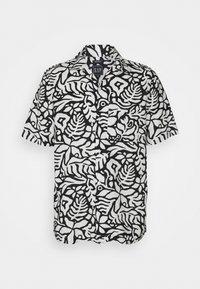 GAP - CAMP COLLAR - Shirt - white/black - 0