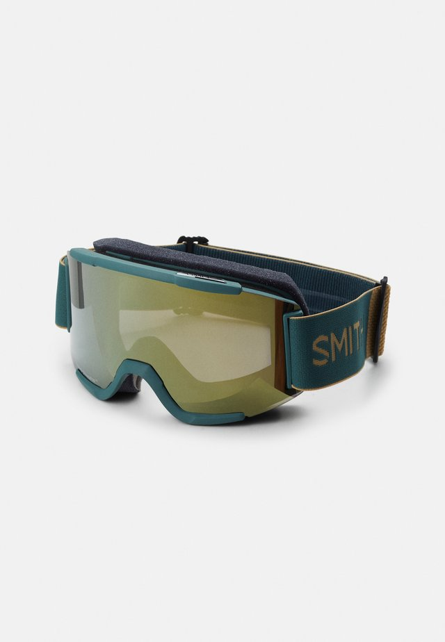 SQUAD - Masque de ski - sun black/gold mirror yellow