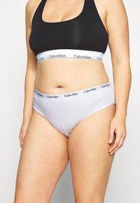 Calvin Klein Underwear - CAROUSEL PLUS SIZE 3 PACK - Briefs - black/white/grey heather - 4
