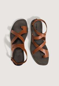 OYSHO - Sandals - brown - 1