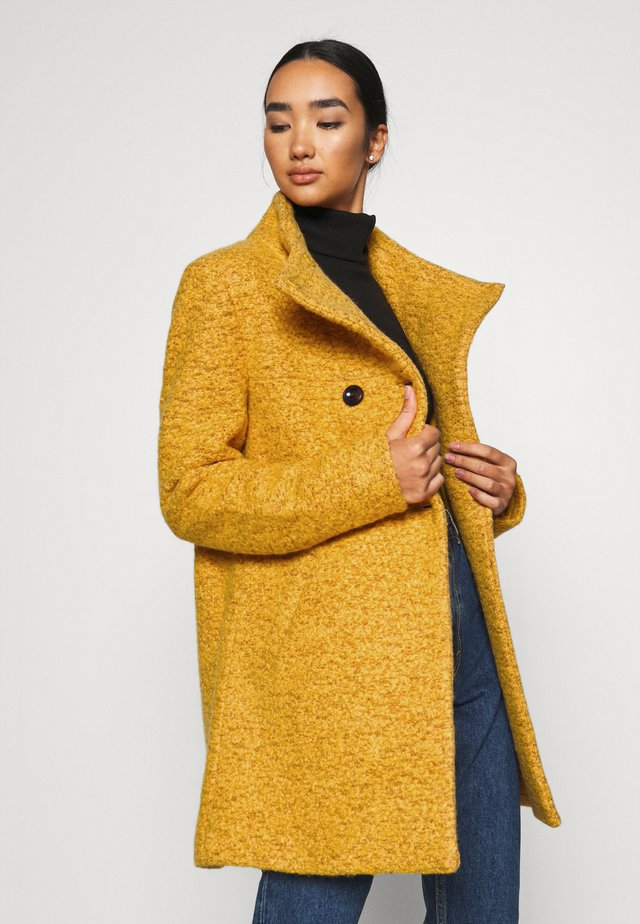 SOPHIA - Classic coat - golden yellow/melange
