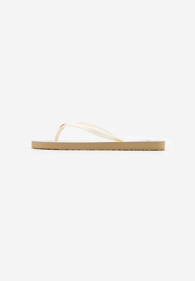 THIN - Teenslippers - new ivory /ivory