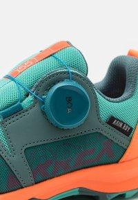 adidas Performance - TERREX  AGRAVIC BOA R.RDY UNISEX - Hiking shoes - hazy emerald/acid mint/screaming orange - 5