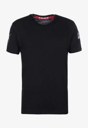 NASA T  - T-shirt con stampa - black