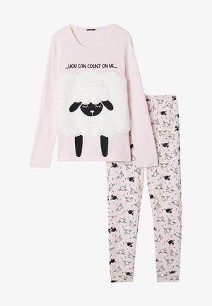 Pyjama set - rosa cloud pink sheep print