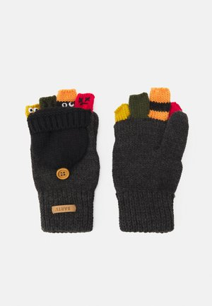 PUPPETEER BUMGLOVES UNISEX - Fingerless gloves - dark heather