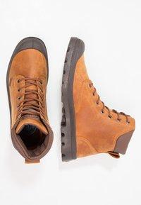 Palladium - PAMPA SPORT CUFF WATERPROOF LUX - Lace-up ankle boots - sunrise/carafe - 1