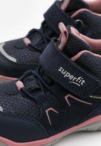 Superfit - SPORT - Nilkkurit - blau/rosa - 5