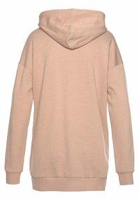 Bench - Zip-up hoodie - camelfarben-weiß - 6