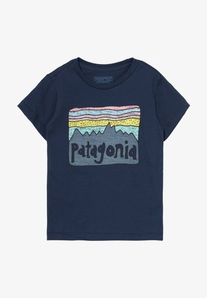 BABY FITZ ROY SKIES UNISEX - Print T-shirt - new navy