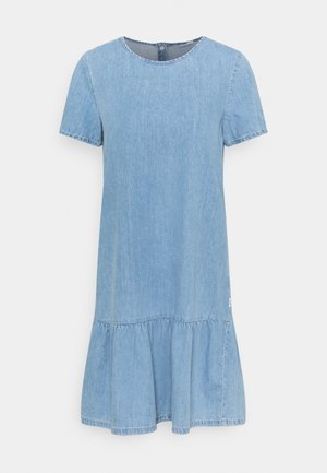 Denim dress - vintage light blue