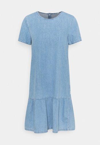 Denim dress - vintage light blue
