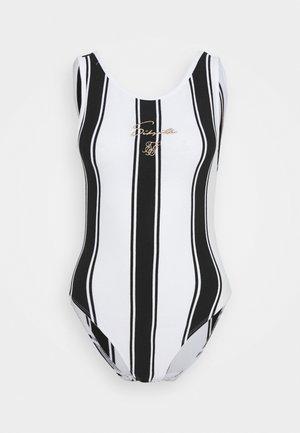 ATHENA STRIPE BODYSUIT - Top - black/white