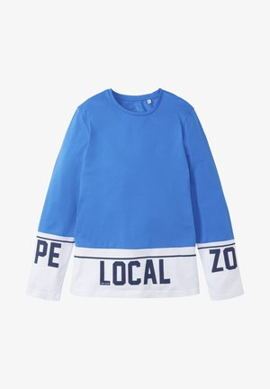 COLORBLOCKING - Longsleeve - strong blue|blue
