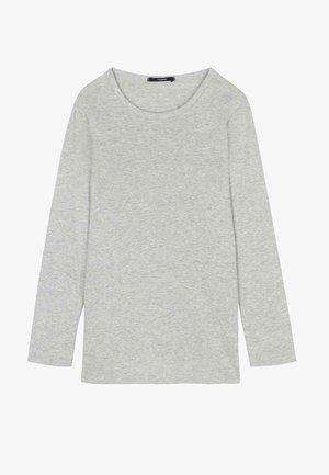 Long sleeved top - grigio mel chiaro